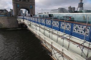 Tower Bridge restoration - images by Harris Digital Productions