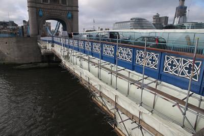 Tower Bridge restoration - images by Harris Digital Productions
